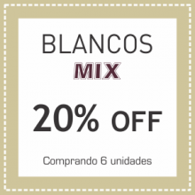 Blancos MIX 20% OFF