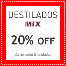 Destilados MIX 20% OFF
